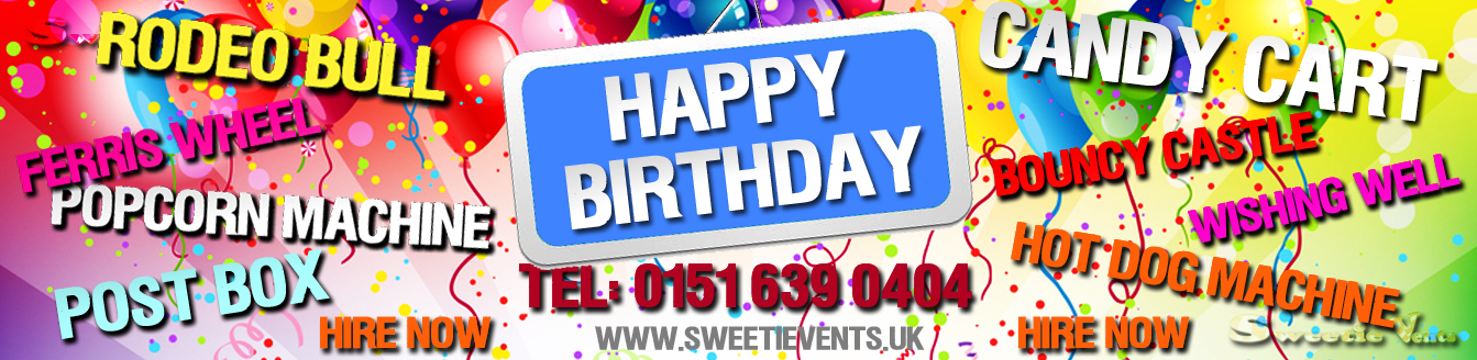 birthday party hire equipment company