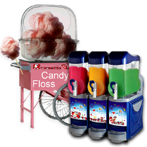 candy floss and slush machine hire wirral