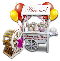candy cart and ferris wheel hire wirral and liverpool